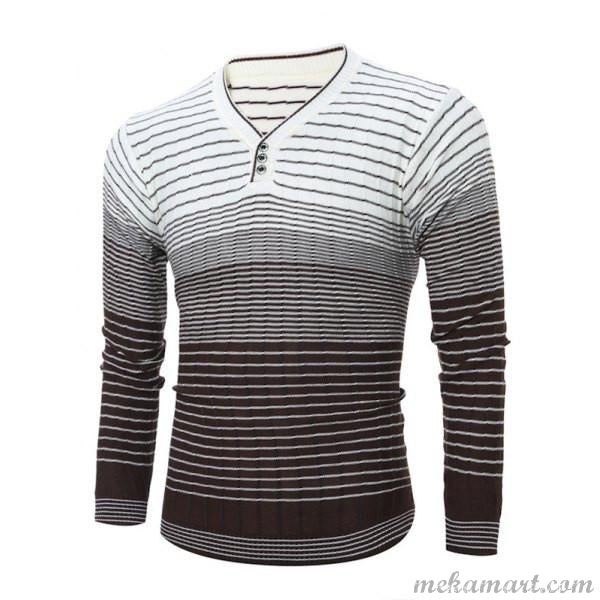 Men's V Neck Trendy Sweaters