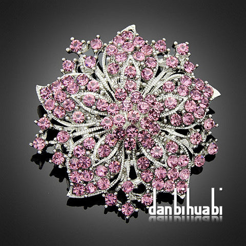 Jewellery  Vintage Style  Crystal Diamante Party Brooches