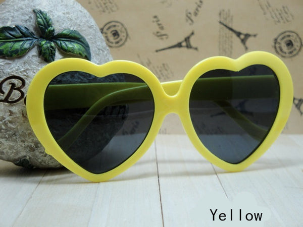 Sunnies  New Summer  Love Heart Shaped Sunglasses
