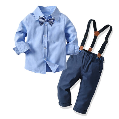 Gentleman Boys Wedding Suits 3pcs Sets Outfit