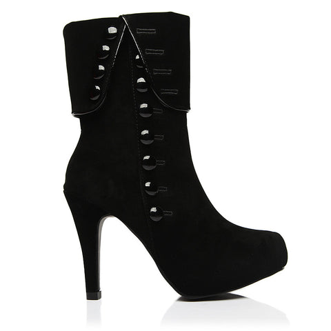 Women's High Heels Winter Wedge Ankle Boots