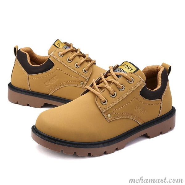 Super Warm Outdoor Casual Angle Boots For Men  Size 39-46