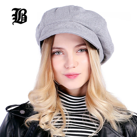 Hat High Quality Wool Fashion Warm Beret Hat