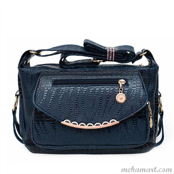 Women's Casual Messenger High Quality PU Leather Handbag