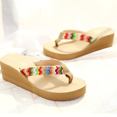Women's Summer Heavy-Bottomed Flipflop Slippers