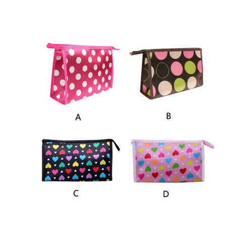 Ladies Superior Quality Multi Color Pattern Cosmetic Bag
