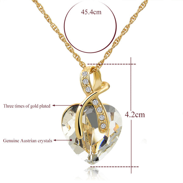 Ladies Jewelry Gift! Gold Plated Jewellery Sets