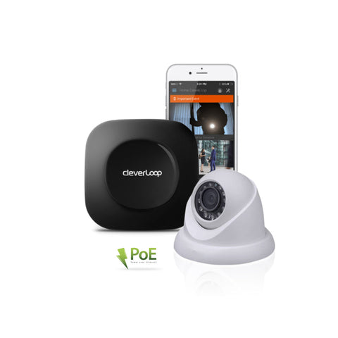 Kit Video vigilancia Cleverloop con cámaras IP Dahua: HDW-1120S PoE 1.3MP HD