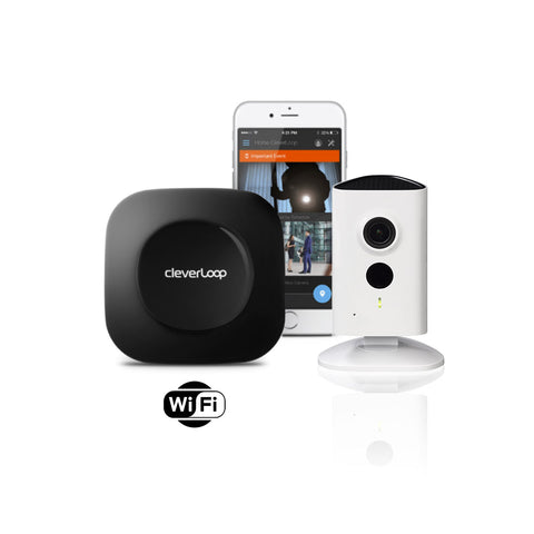 Kit Video vigilancia CleverLoop con cámaras IP Dahua C15 WIFI 1.3MP HD