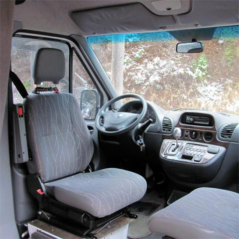 Mercedes Sprinter seat swivel