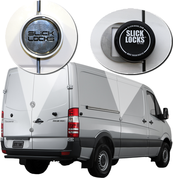 Sprinter security cargo door locks