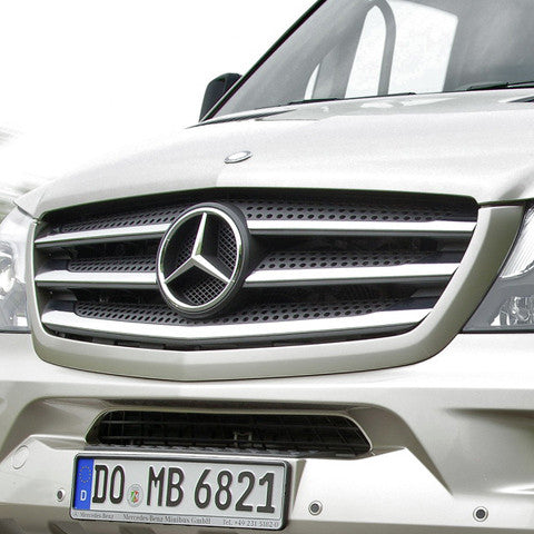 Mercedes Sprinter chrome grill accent