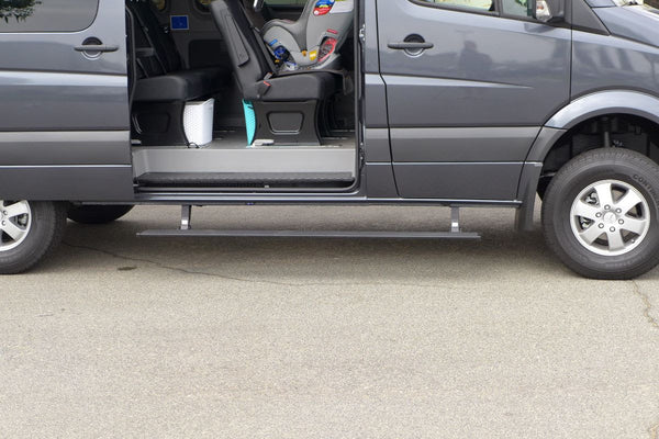 Sprinter Automatic Power Retractable Running Boards