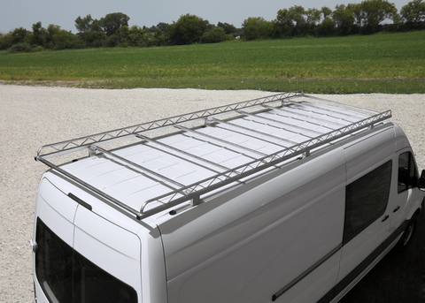 Ladder cargo rack for Mercedes Sprinter van