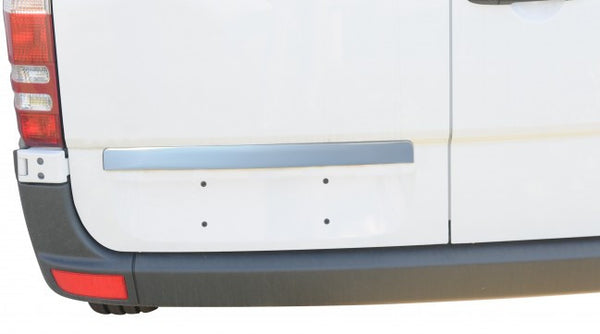 Mercedes Sprinter chrome license trim