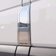 Chrome gas door for Sprinter van