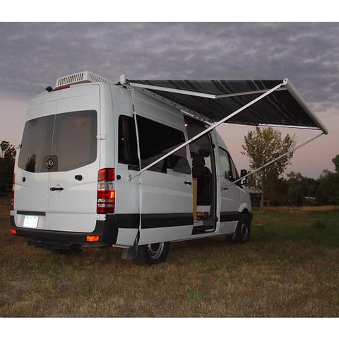 Fiamma F65s awning on Sprinter van