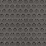 Rubber floor mat gray