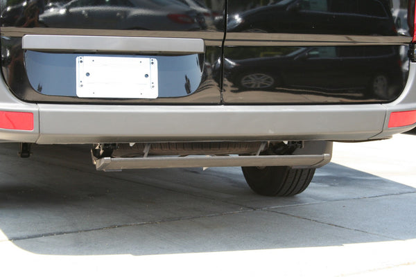 Sprinter rear step not compatible with trailer hitch