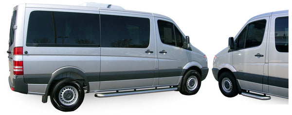 Sprinter with Luverne running boards