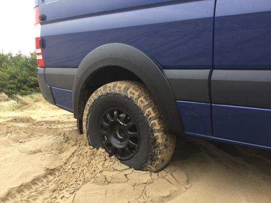Sprinter 4x4 OVERSIZED fender flare kit