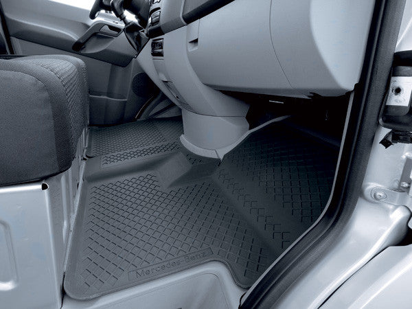 Mercedes Sprinter rubber floor mats