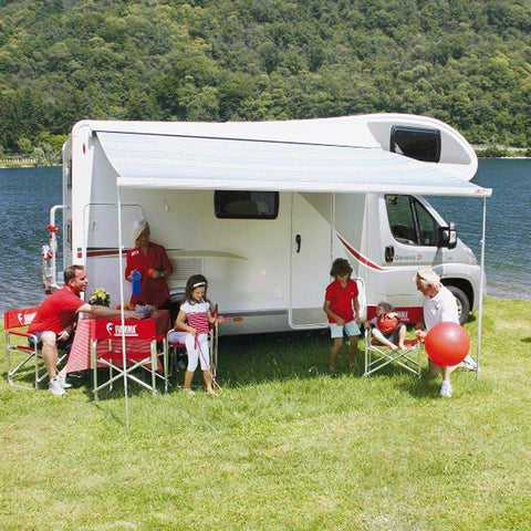 Sprinter RV with Fiamma F45 wall mount awning