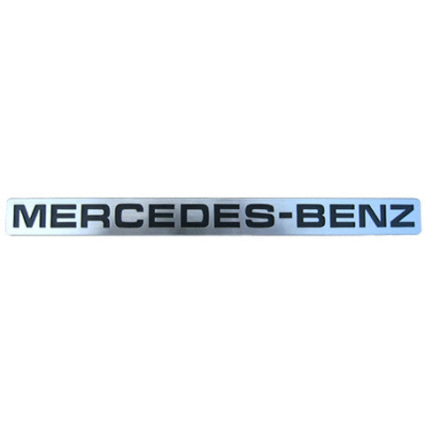Mercedes-Benz Sprinter license plate emblem