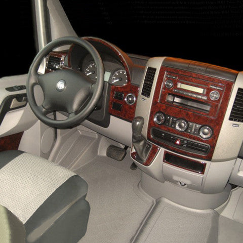 Mercedes Sprinter wood dash kit