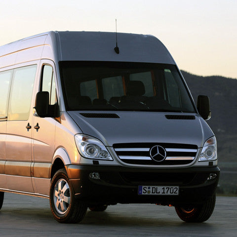 Mercedes Sprinter chrome grill accents