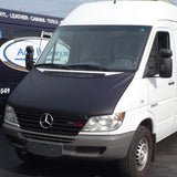 Dodge Sprinter with hood bra