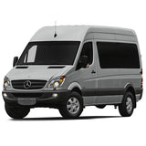 Mercedes Sprinter with stock alloy wheels