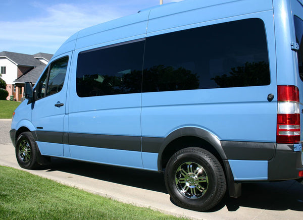 Vision wheels on Mercedes Sprinter van