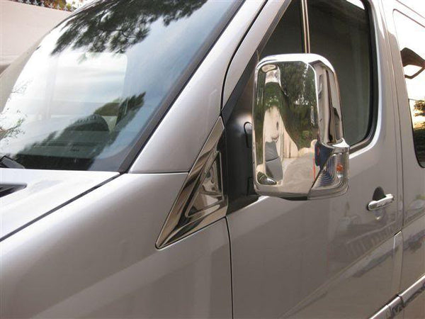 Mercedes Sprinter chrome mirror covers