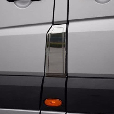 Mercedes Sprinter chrome fuel door