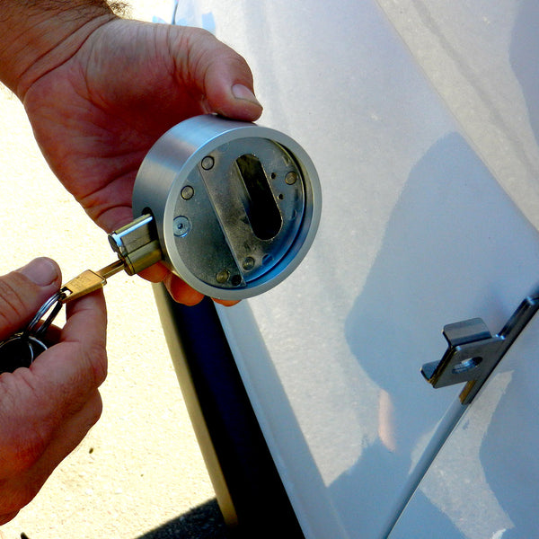 Deadbolt lock for Sprinter cargo van