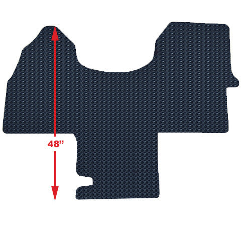 Rubber floor mat for Sprinter 1 PC