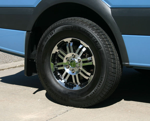 "Sprinter with 16"" rims"