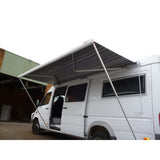 Fiamma awning on Italian Sprinter van