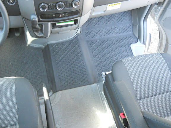 Floor mats for RV on Sprinter Chassis