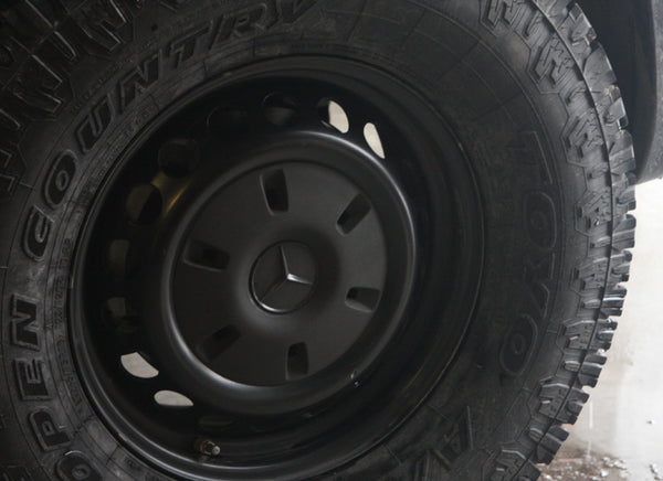 Sprinter 2500 Steel Wheels Black