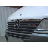 Sprinter chrome hood molding