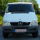 Mercedes sprinter chrome hood molding