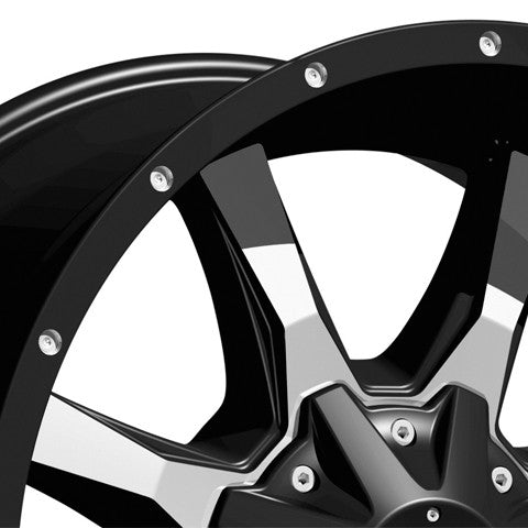 "Sprinter Moto Metal 17"" wheel detail"