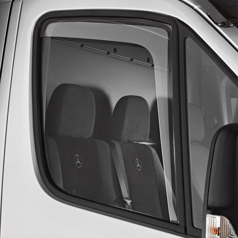 Mercedes Sprinter wind rain deflector