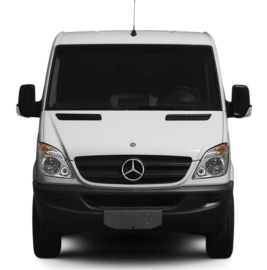 Sprinter grille conversion kit convert dodge to mercedes for Mercedes benz sprinter parts and accessories