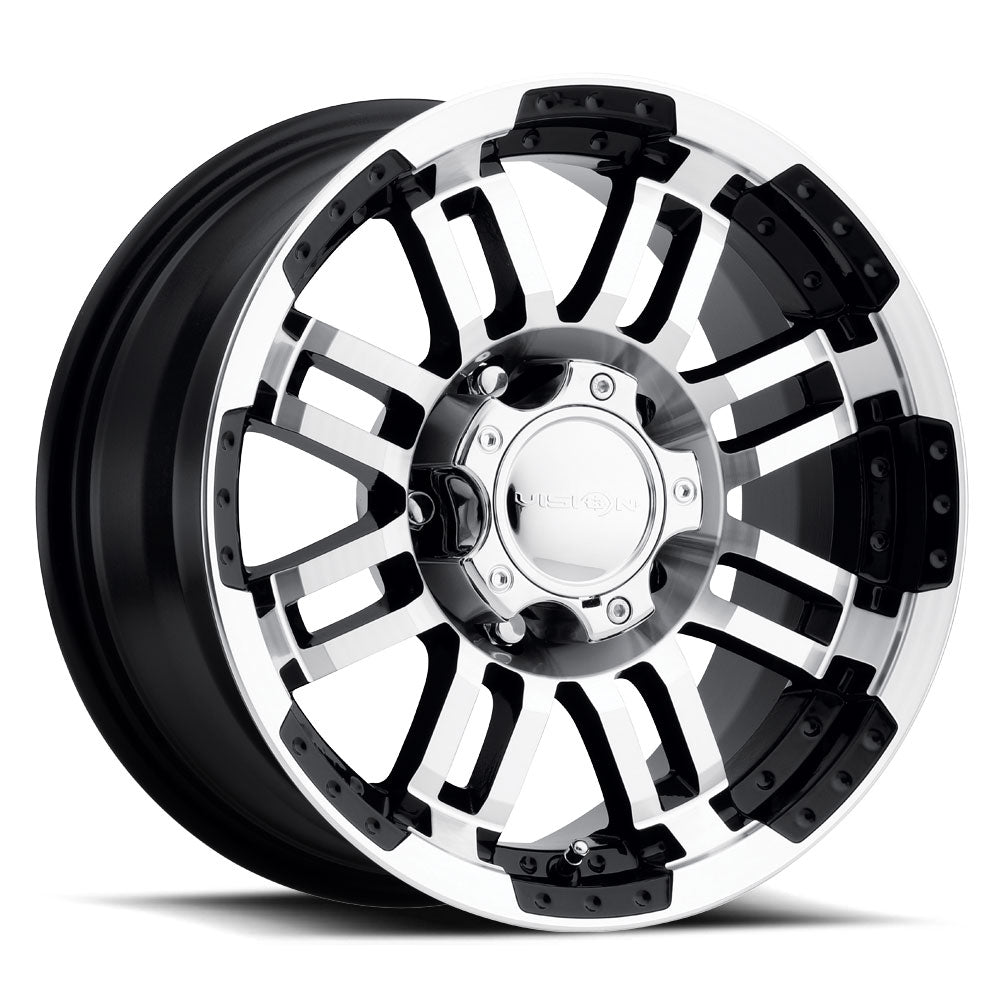 Sprinter 2500 Vision® Alloy Wheels Black w/Machined Face