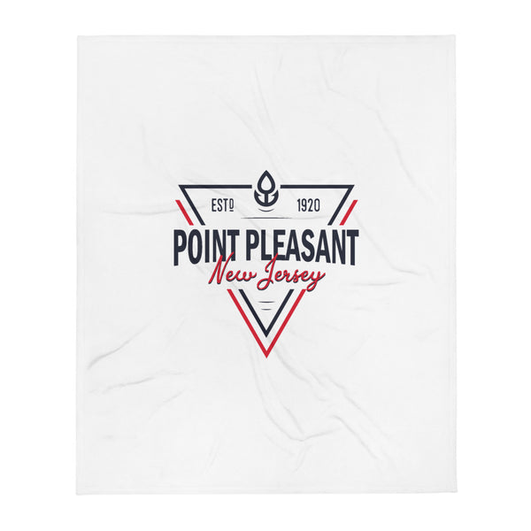 Point Pleasant Throw Blanket