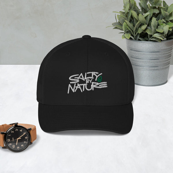 """OG"" Trucker: White Logo/Green Icon (8 Colors)"