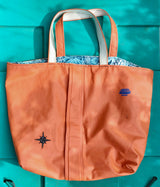 Upcycled Foul Weather Totes